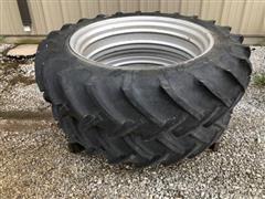 Co-op Super Power Plus 13.9-36 Tires & Rims
