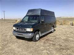 1998 Ford Club Wagon E350 Wheel Chair Accessible Van