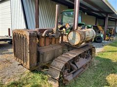 1930 Caterpillar Thirty Crawler Tractor