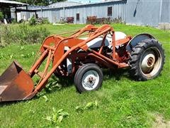 1952 Ford 8N 2wd Tractor W/Loader