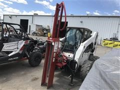 Shaver HD-10 Post Pounder Skid Steer Attachment