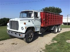 1979 Ford F800 T/A Grain Truck