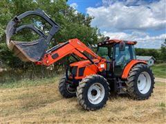 2009 AGCO LT95A MFWD Tractor & AGCO FL40 Loader