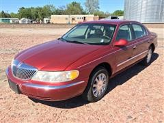 2000 Lincoln Continental 4 Door Sedan
