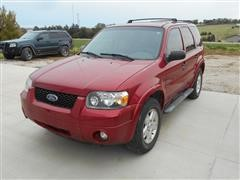2007 Ford Escape XLT SUV, 4x4