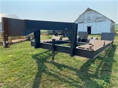 Shop Built Swather Trailer