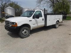 2000 Ford F450 2WD Service Truck