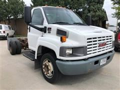2008 GMC C5500 2WD Cab & Chassis