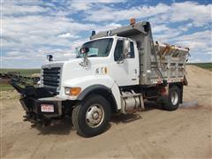 2001 Sterling L8500 S/A Dump Truck W/Plow