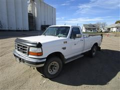 1995 Ford F250XL 4x4 Pickup