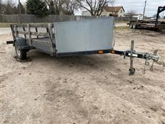 2007 Yacht Club S/A Flatbed Utility Trailer