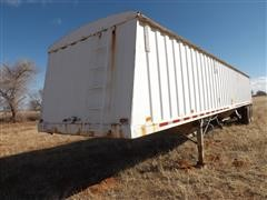 1992 Jet T/A Hopper Bottom Grain Trailer