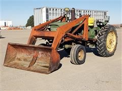 1963 John Deere 3010 2WD Tractor W/DU-AL Loader