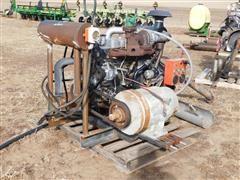 Isuzu 6-Cyl Power Unit W/10 KW Lima Genarator