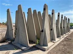 F&W Concrete Silo Feed Bunkers
