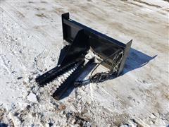 Brute Tree/Post Puller Skid Steer Attachment