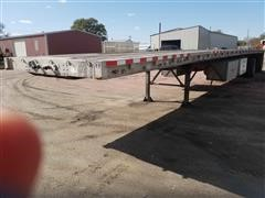 2004 Wilson CF 900 T/A Flatbed Trailer