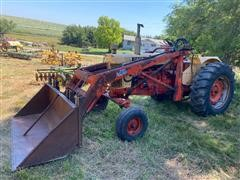 1969 Case 930 2WD Tractor W/325 Dual Loader