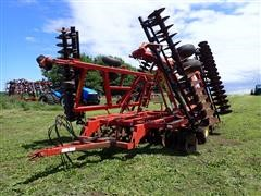 Sunflower 1433-35 35' Disk W/3 Bar Harrow