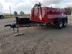 2015 East Texas Trailer T/A Fuel Trailer
