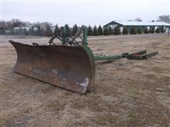 John Deere 00534 9' Dozer Blade With Mount