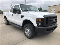 2010 Ford F250 XL Super Duty 4x4 Extended Cab Utility Truck