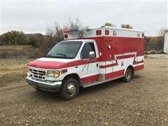 1995 Ford E350 Wheeled Coach Ambulance