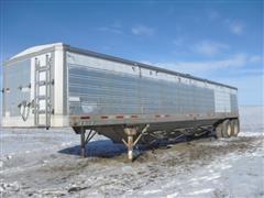 1980 American A744 T/A Grain Trailer