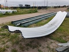 Behlen Galvanized Curved Windbreak Panels