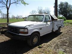 1997 Ford F250 2WD Pickup W/Service Box