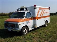 1982 Chevrolet 30 Ambulance