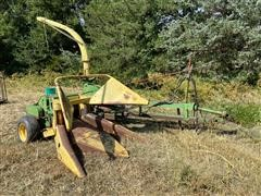 John Deere 38 Forage Harvester & Heads