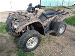 2007 Honda TRX 420 FE 4WD Rancher ATV