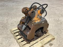 BTI-90S Hydraulic Plate Packer Backhoe Attachment