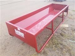 Behlen Mfg 10' Red Steel Feed Bunk