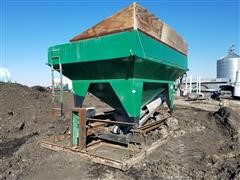 Doyle Dry Fertilizer Scale With Unload Conveyor