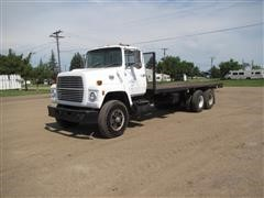 1982 Ford LN9000 T/A Flatbed Truck