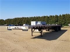 2006 Wilson CF-900 T/A Flatbed Trailer