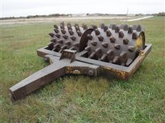 American Steel Works Sheepfoot Compactor