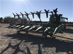 2007 John Deere 894 Corn Head W/Trailer