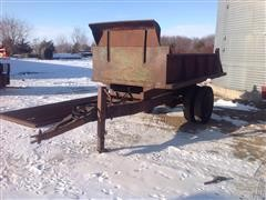 Homemade Dump Trailer