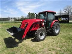 2018 Mahindra 80904CPAL MFWD Tractor W/Loader