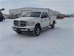 2008 Dodge RAM 2500 Heavy Duty 4x4 Crew Cab Service/Utility Truck