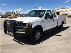 2006 Ford F250XL Super Duty 4x4 Extended Cab Service Truck