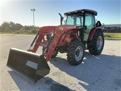 Mahindra 8090 PST 4WD Compact Utility Tractor W/Loader