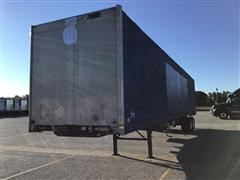2001 Wabash T/A Curtain Side Enclosed Trailer