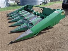 John Deere 643 Low Tin Oil Bath Corn Head