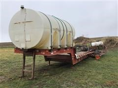 1976 Donahue T/A Sprayer Tender Trailer