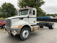 2008 Peterbilt 335 S/A Cab & Chassis