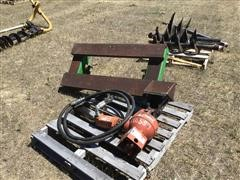 Rhino Hydraulic Post Hole Auger